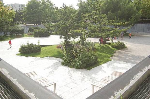 Garden at Park André Citroën