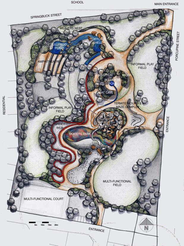 Lehae Park_Habitat Landscape Architects Johanesburg SouthAfrica 2