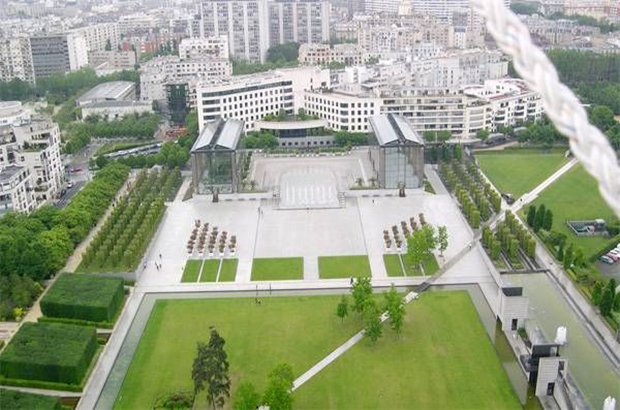 Park André Ctroën aerial view
