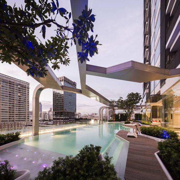 تلاقی فلسفه ذن و طراحی فضای جمعی در ساخت مجتمع مسکونی