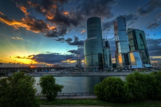 فرم ساختمانهای مرکز تجاری مسکو در سال 2011