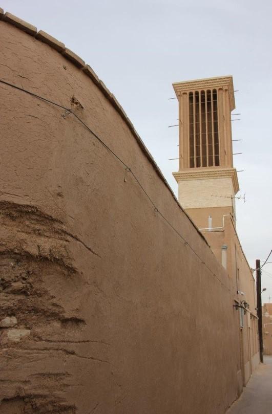 بادگیر عنصر هویت بخش منظر شهر یزد