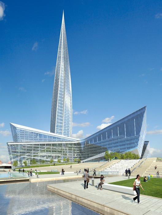 طرح پیشنهادی برای مرکز تجاری در سن پترزبورگ