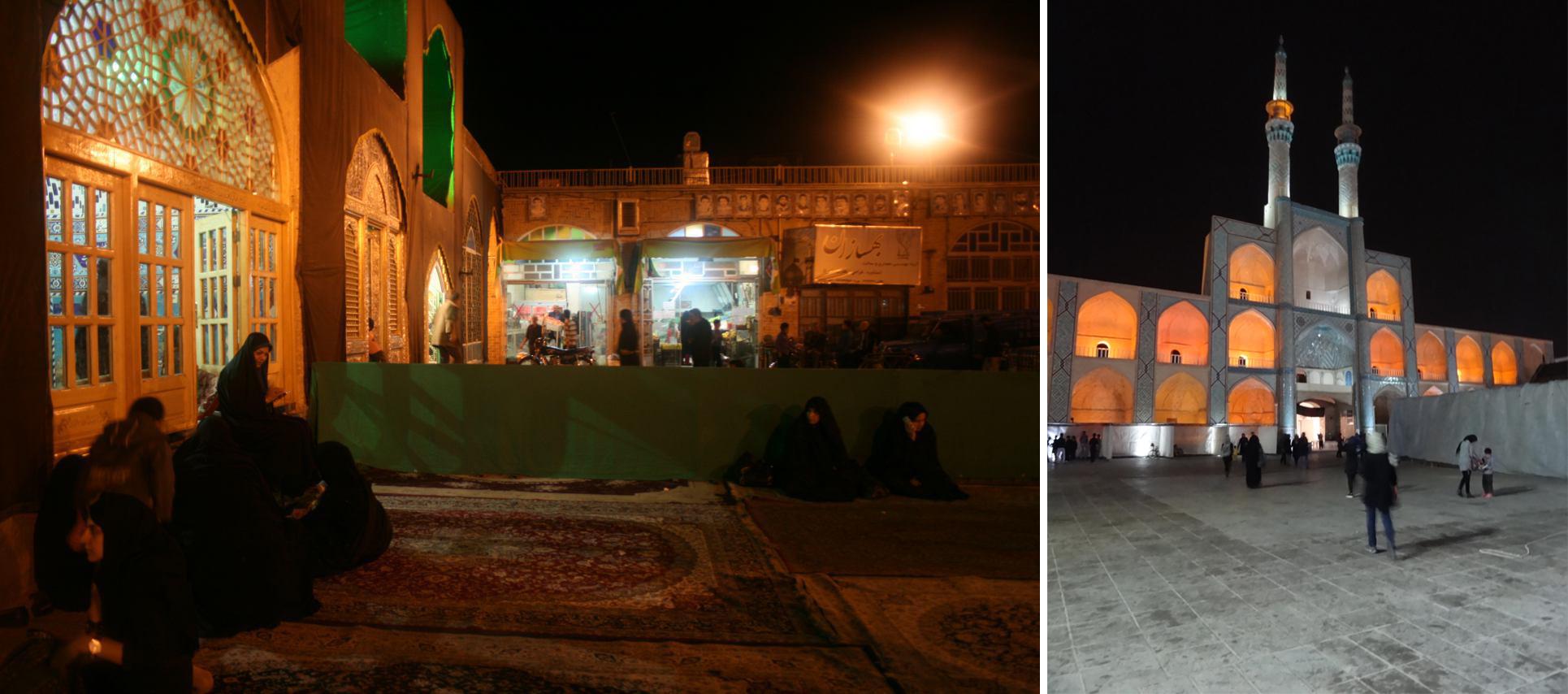 مقایسه پویایی و پاسخدهی به نیاز شهروندان در میدان امیرچخماق یزد و شاه ولی تفت