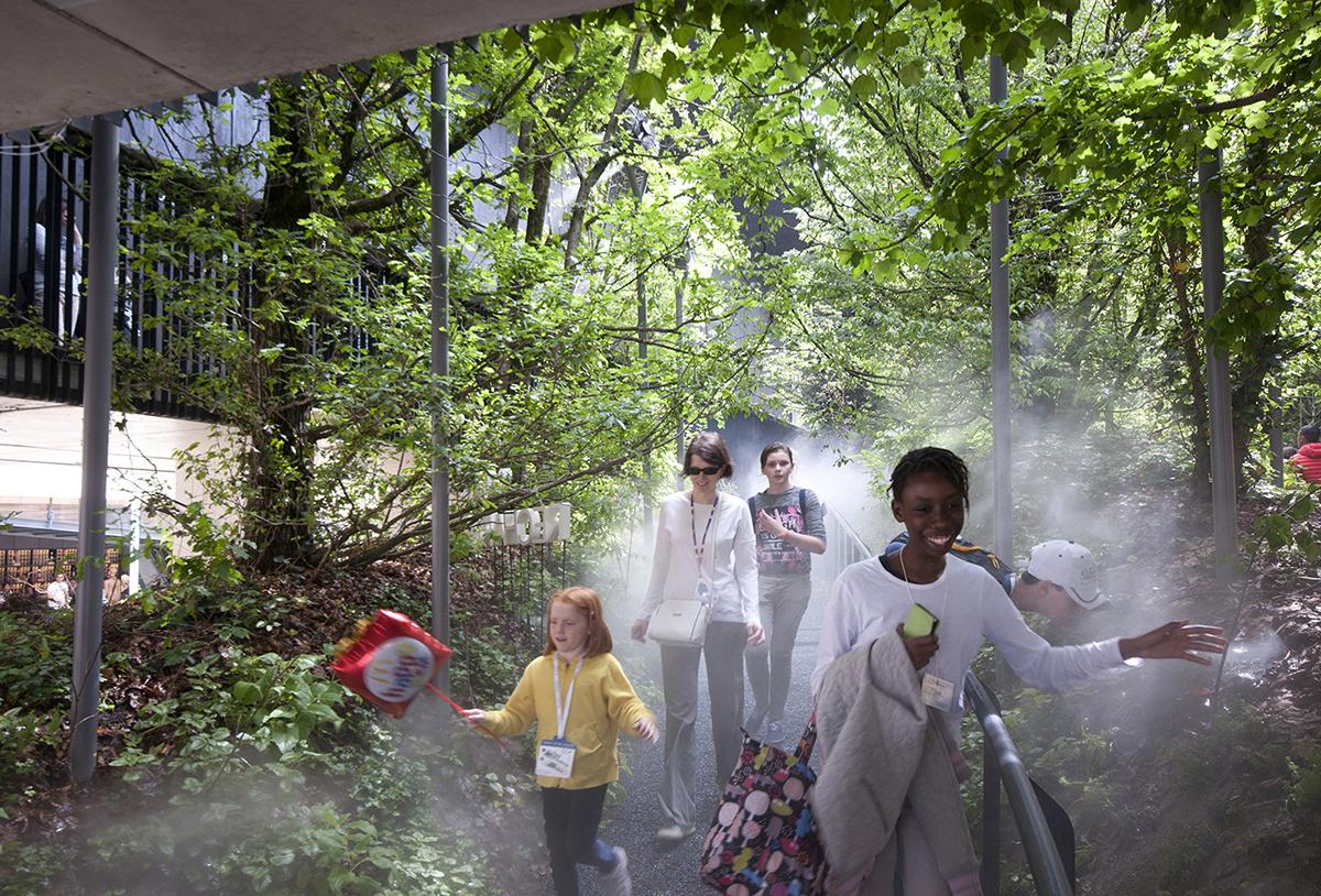 صدای نفس اتریش، نگاهی به غرفه اتریش در اکسپوی 2015 میلان