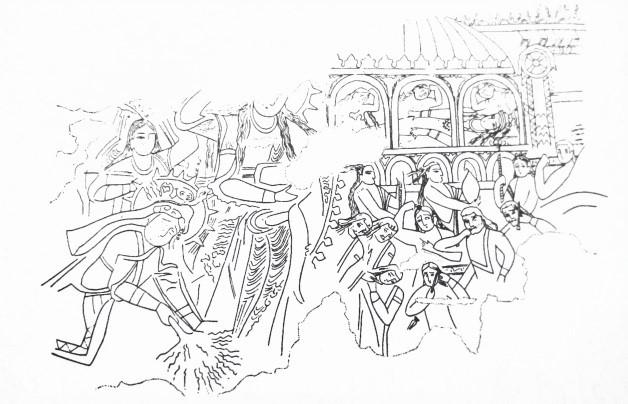 نگاهی به مراسم نخل گردانی و نقش آن در منظر آیینی