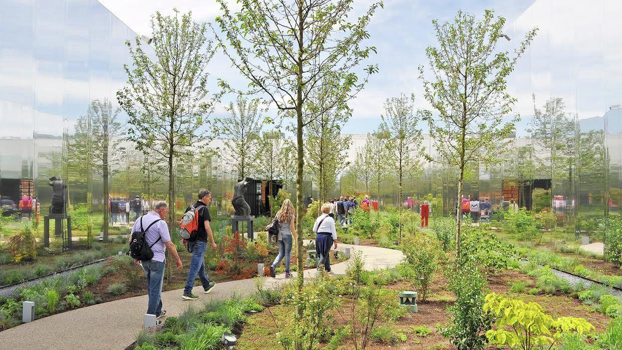 گردش در میان شکوفه های سیب؛ نگاهی به غرفه لهستان در اکسپوی 2015 میلان
