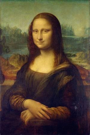 مونالیزا، اثر لئوناردو داوینچی