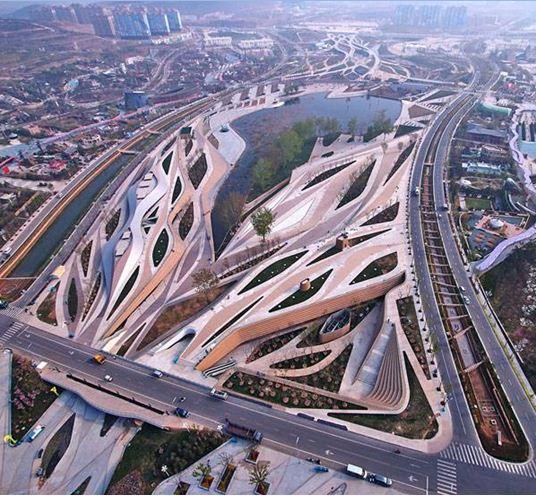 استعدادهای برتر معماری منظر چین