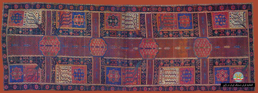 از باغ ایرانی تا فرش ایرانی با رویای بهشت