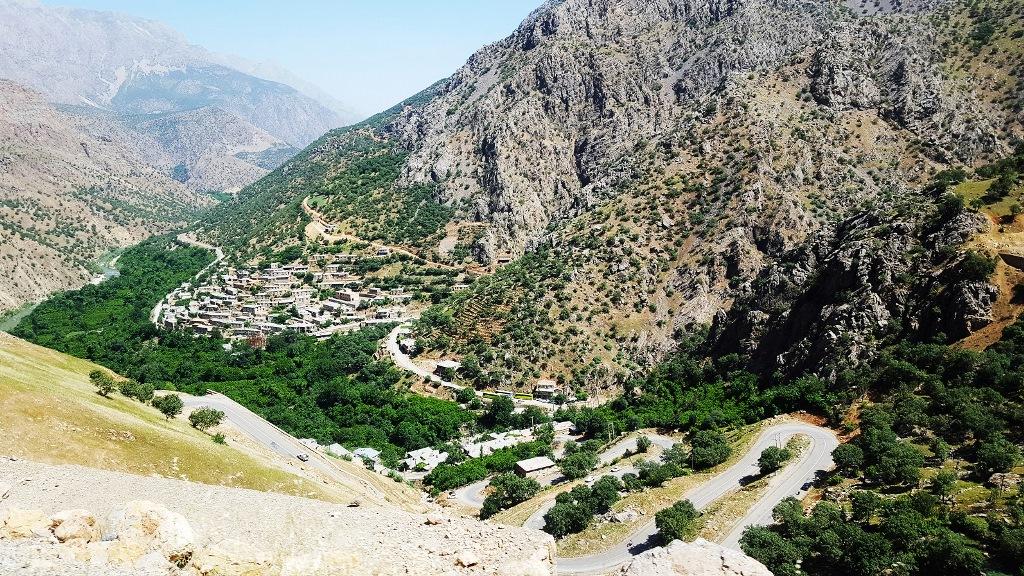 منظر ورودی روستاهای هورامانات