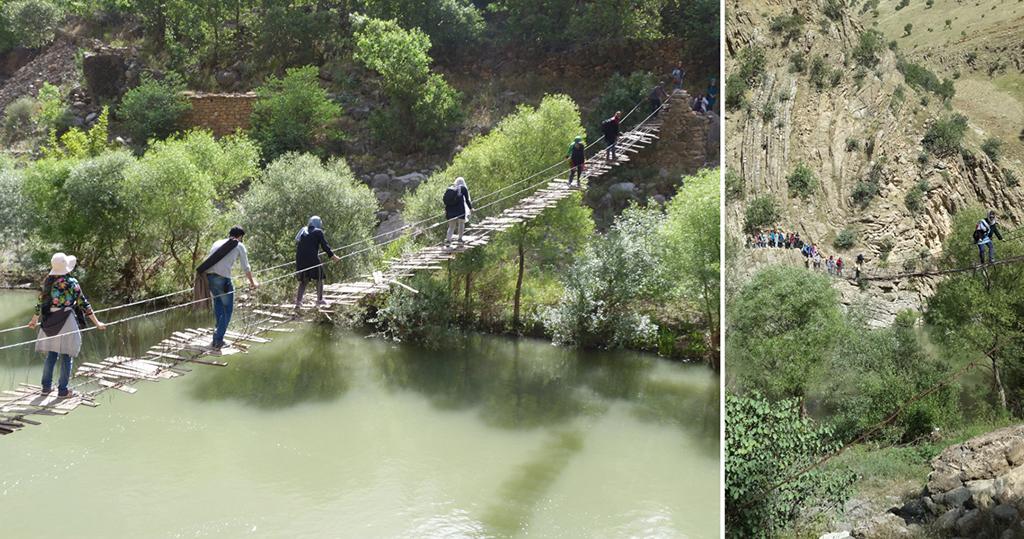 منظر ترس و هیجان در رودخانه سیروان