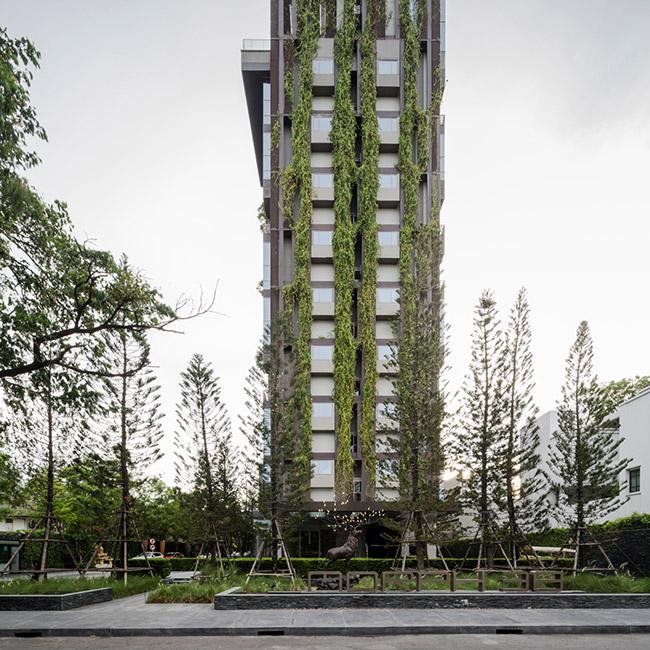 باغ آسمان پروژه مسکونی اشتون مورف در بانکوک