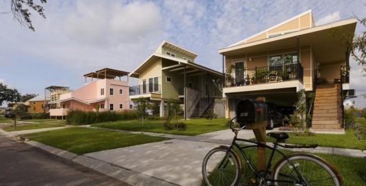 برخی از ساختمانهای پروژه Make it Right