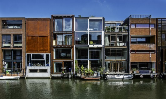 پروژه بورنئو در آمستردام نشان دهنده خیابانی متنوع، نمایی یکپارچه و مدرن است.
