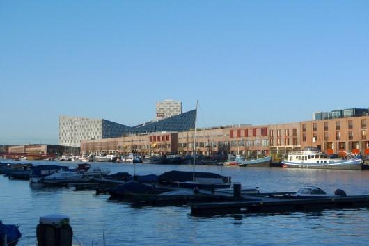 ساختمانهای عجیب و غریب در پروژه جزیره بورنئو اسپورنبرگ که بر شکل نهنگ تاکید دارند.