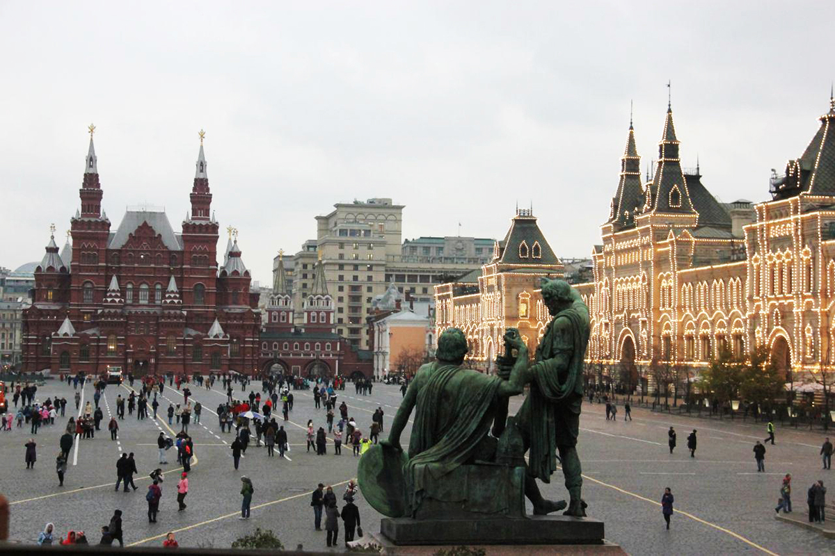 تجربه حضور در میدان سرخ مسکو