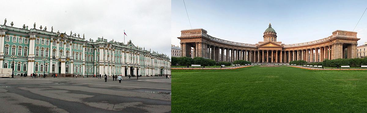 منظر محورهای اصلی شهر سن پترزبورگ؛ نمونه موردی: خیابان نوسکی پراسپکت
