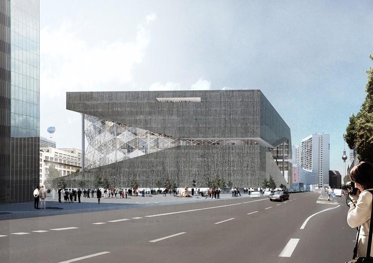 طرح رم کولهاس برای ساختمان شرکت اکسل اسپرینگر در برلین