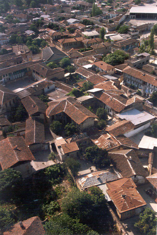 نگاهی به نحوه شکل گیری بافت قدیم شهر گرگان