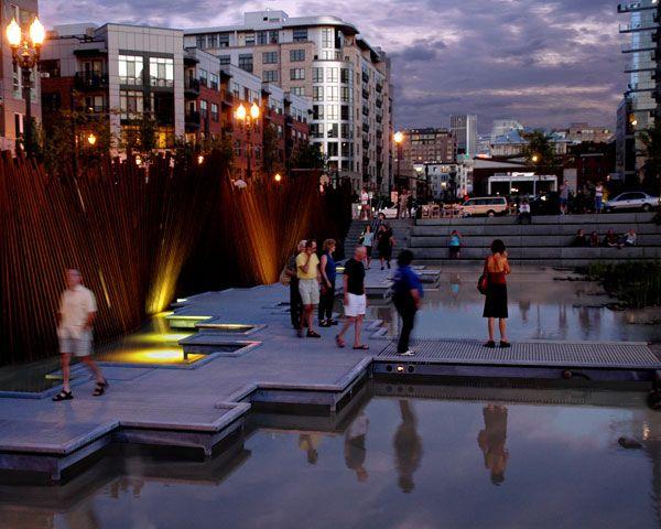 پارک تَنِر اِسپرینگز، مرغزاری در میان شهر