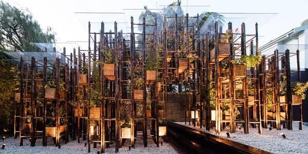 بازگرداندن طبیعت به شهرها با استفاده از فولاد سبز (بامبو)