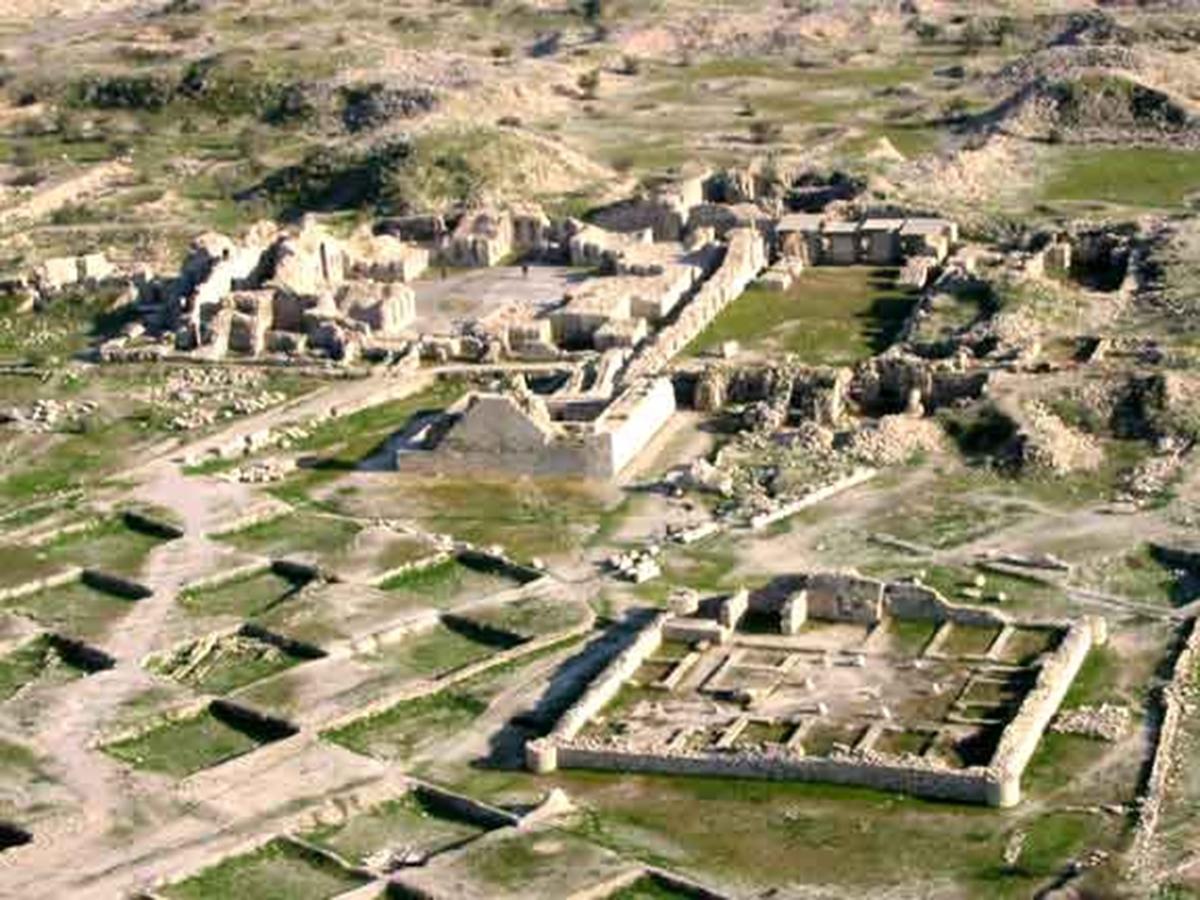 تعامل شهر و طبیعت در بیشاپور، شهر باستانی ساسانی