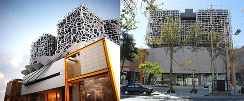 تحلیل پروژه های مهرداد ایروانیان در شیراز