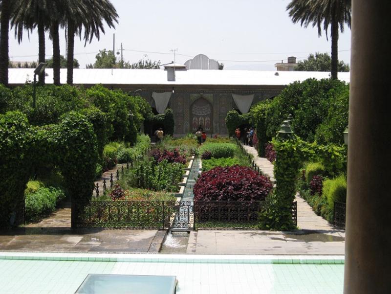الگوهای باغسازی در شیراز