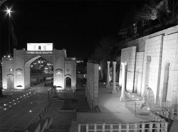 تفاوت ایده و نگرش در طراحی آرامگاه شعرای شیراز