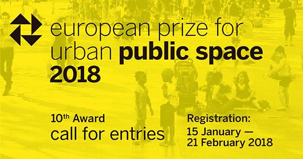 فراخوان دهمین جایزه اروپا برای فضاهای عمومی شهری