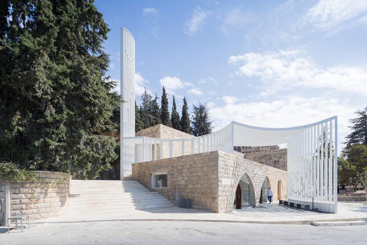 مسجد امیر شکیب ارسلان کاری از گروه معماران L.E.FT