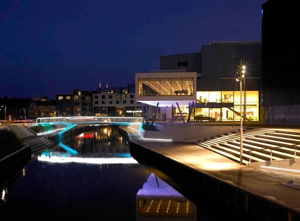 تبدیل فضای منزوی حاشیه رودخانه Storaa به فضای زنده شهری