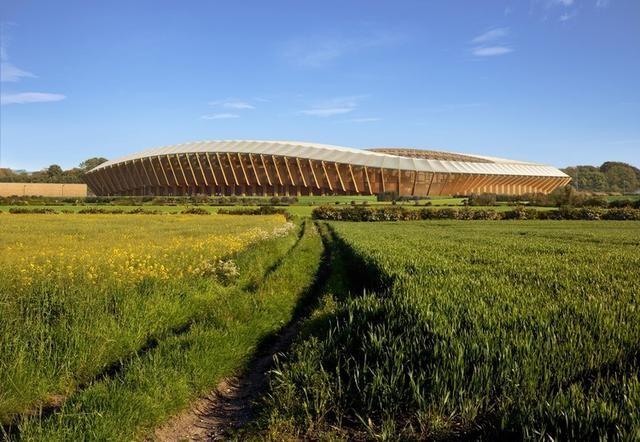 گروه معماری زاها حدید برنده مسابقه طراحی اولین ورزشگاه تمام چوب دنیا