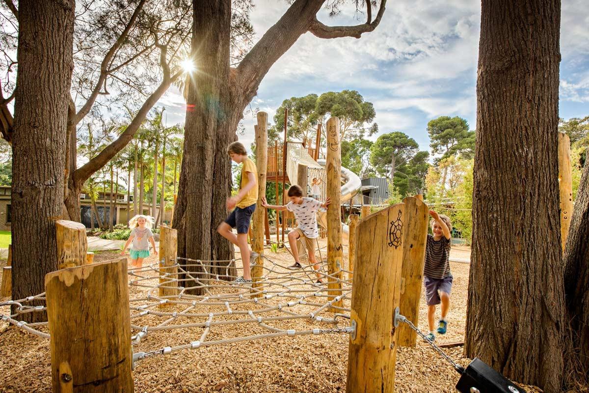 باغ وحش آدلاید، زمین بازی در طبیعت