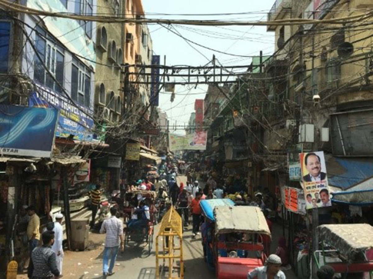 تاثیر آشفتگی بر منظر شهری در شهرهای هند