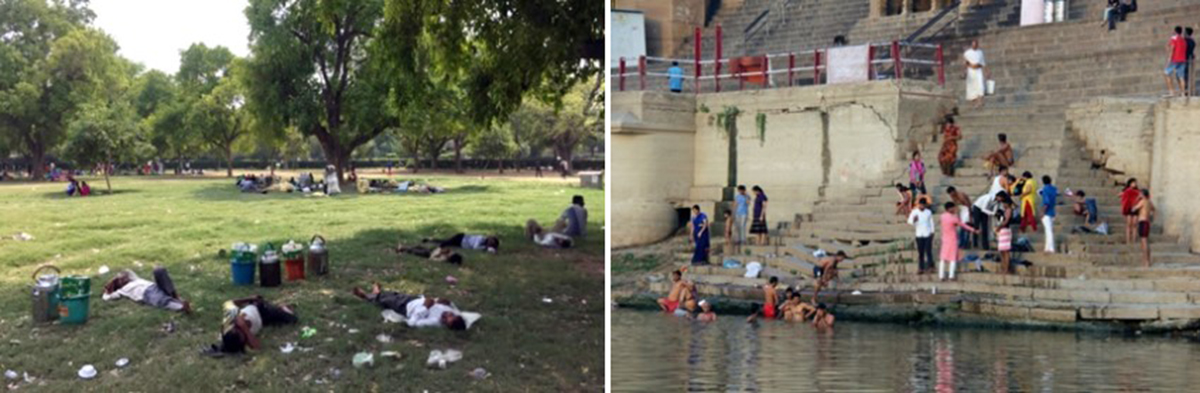 بی مرزی در منظر شهری هندوستان