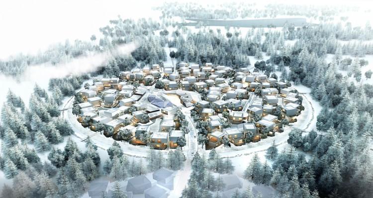 رونمایی از ایده بخش مسکونی دره سیلیکون جدید در مسکو