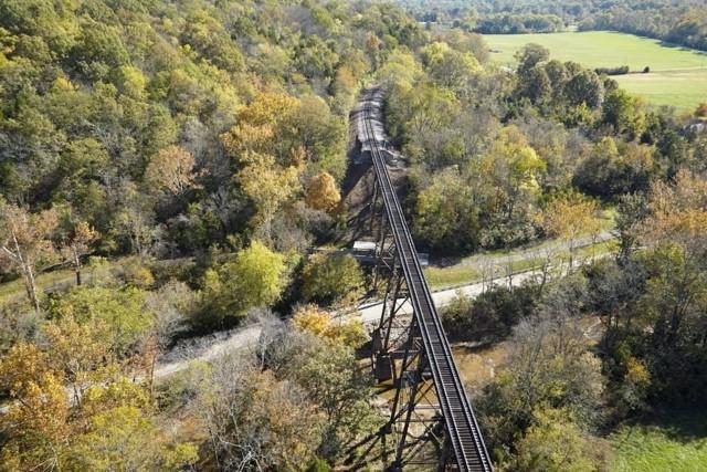 ساماندهی پارک جنگلی فلوید فورک بر اساس گذشته صنعتی آن
