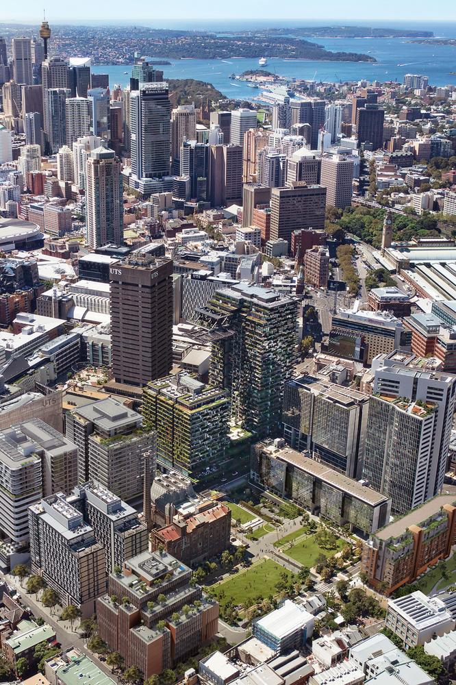 پارک مرکزی به مثابه فضای عمومی در برادوی سیدنی